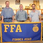 FFA - Billy Lynn and Donnie Ash volunteer with FFA - Community Outreach